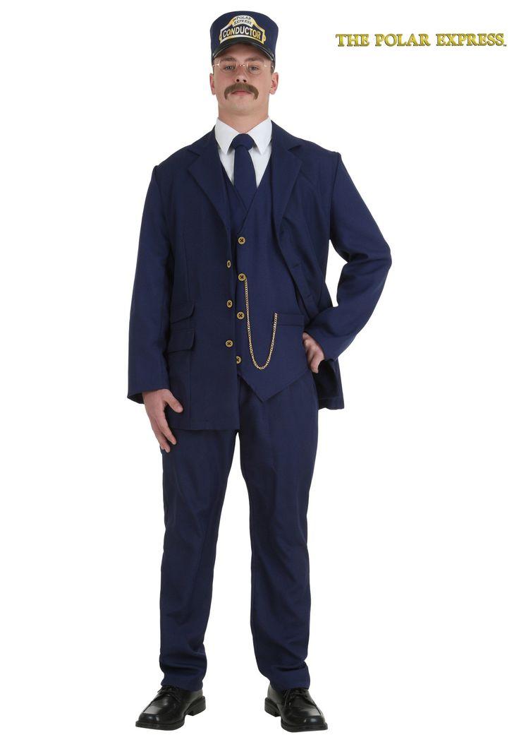 adult train engineer costume