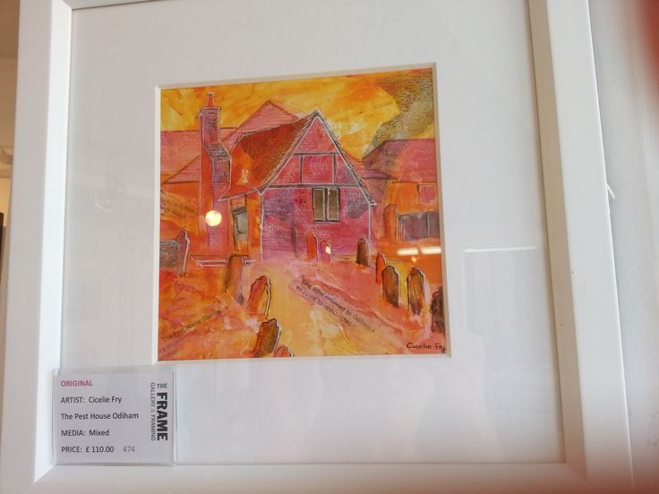 Cicelie Fry - To buy from The Frame Gallery