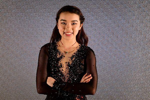 Karen Chen Photos Photos - Figure skater Karen Chen poses for a portrait during the Team USA PyeongChang 2018 Winter Olympics portraits on April 28, 2017 in West Hollywood, California. - Team USA PyeongChang 2018 Winter Olympics Portraits