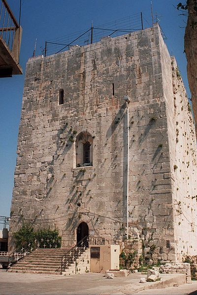 "Chastel Blanc, Syria - The ""White Castle"" was occupied by the famed Crusader order of the Knights Templar in the early 12th century, but was overrun and largely destroyed by an Arab army in 1171."