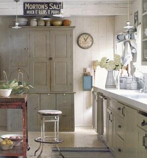 cabinet colorKitchens Design, Cabinets Colors, Vintage Kitchens, Rustic Kitchens, Los Angels, Country Kitchens, Farmhouse Kitchens, Vintage Design, Eclectic Kitchens
