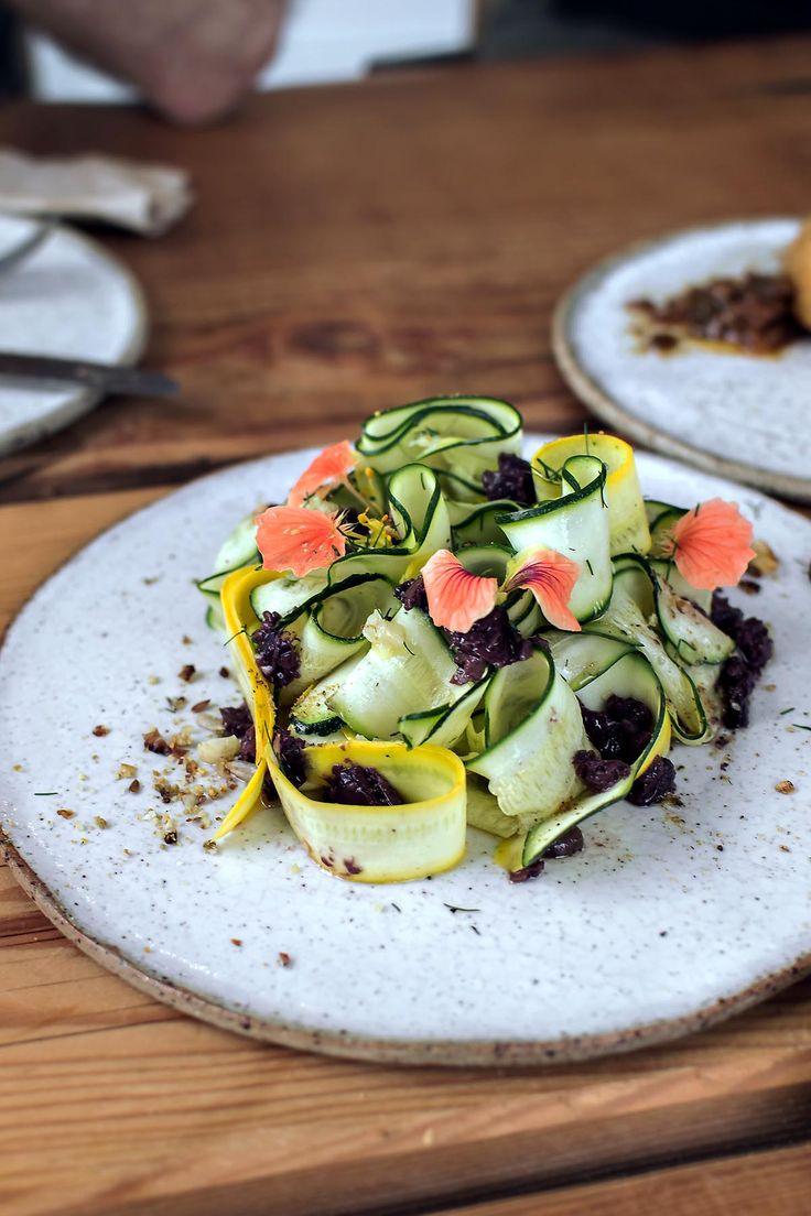 Zucchini salad at Native Kitchen & Bar, Lawson | heneedsfood.com