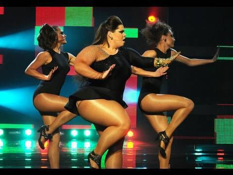 She's all kinds of sassiness! Katy Brand as Beyonce gets through to the Let's Dance for Sport Relief f...