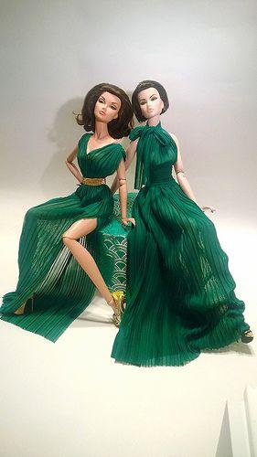 Poppy Parker and Elsa LIn