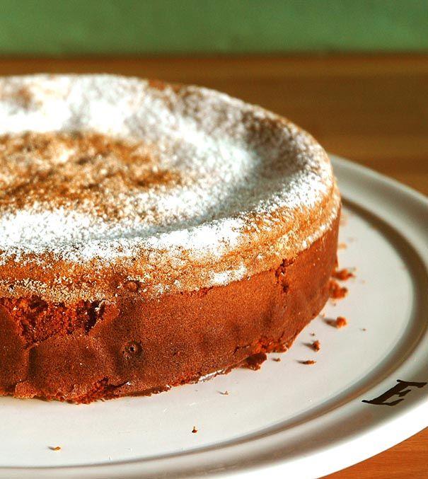 Tarta de almendra zarrapastrosa   Recetas con fotos paso a paso El invitado de invierno