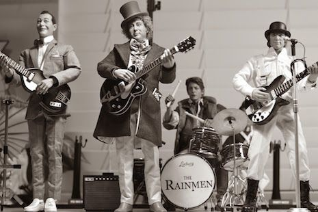 The Rainmen Band (Pee-Wee, Willy Wonka, Alex and Marty McFly) by Rainman