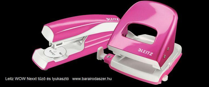 Leitz WOW Nexxt stapler and puncher.