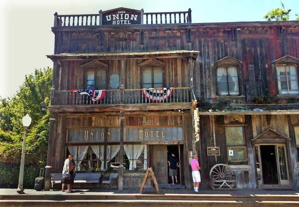 Los Alamos, a small Santa Barbara County town that's a nice escape from the busy, touristy wine towns nearby. Pictured: The Union Hotel, a perfectly preserved slice of the Old West with a saloon to match.