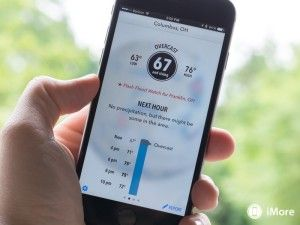 You can get weather forecasts from your mobiles; it is now to improve those forecasts. Dark Sky has released its iOS app a big improvement which uses the barometer on your iPhone 6 or 6 Plus to analyze the pressure readings.