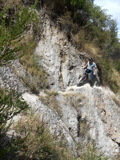 Our director, Bernard, walks the walk on an alternative trek from #Cusco to Sacsayhuaman.