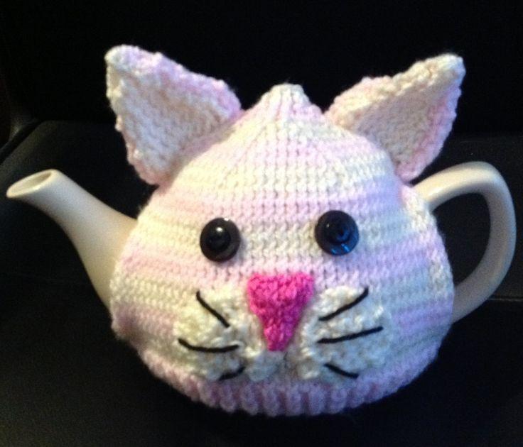 Pink cat cosie