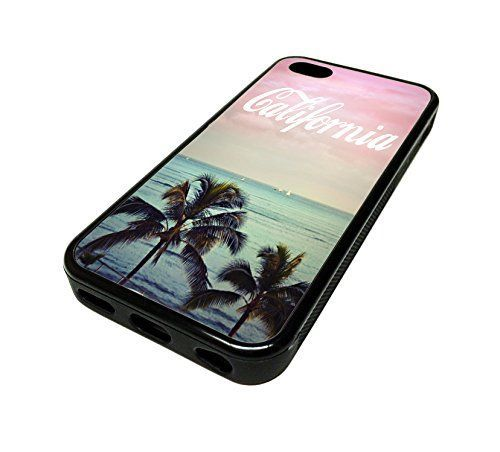 For Apple Iphone 5 or 5s Cute Phone Cases for Girls California Cool Palm Tree Swag Cali Design Cover Skin Black Rubber Silicone Teen Gift Vintage Hipster Fashion Design Art Print Cell Phone Accessories MonoThings http://www.amazon.com/dp/B00KYFF11E/ref=cm_sw_r_pi_dp_il6Ntb0Z874DZT1E