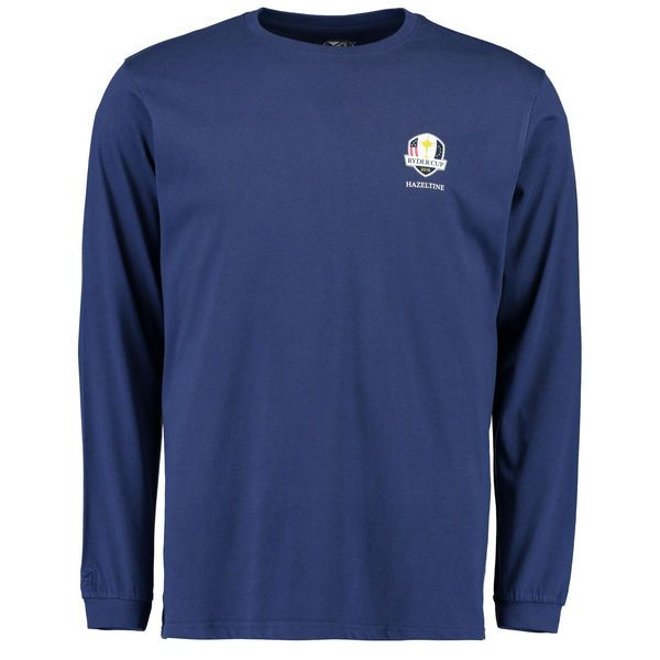 2016 Ryder Cup Hazeltine Long Sleeve T-Shirt - Navy - $26.99