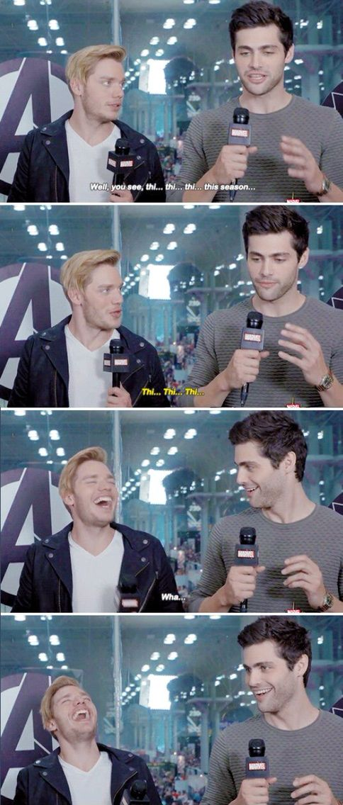 Shadowhunters ... Dominic Sherwood and Matthew Daddario as Jace and Alec