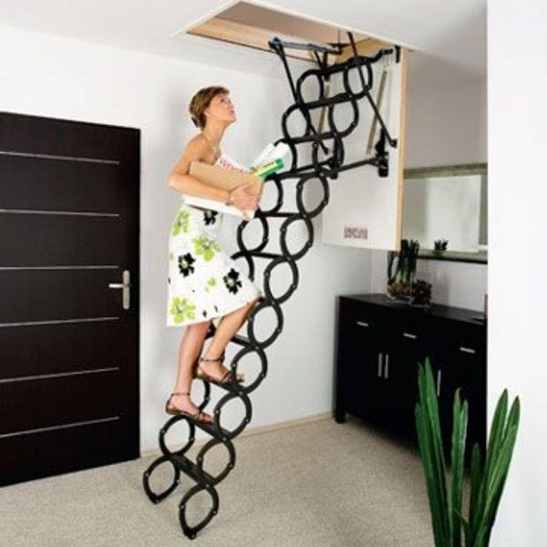 Tres 5 Escaliers Escamotables Cote Maison Hd42 Deco Maison