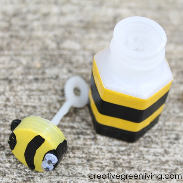 How To Make Bubble Bee Party Favors Creative Green Living
