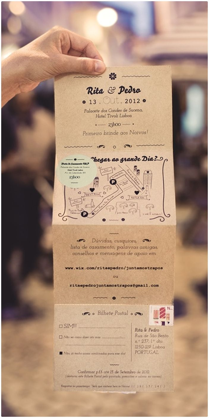 Convite Criativo Inteligente Organizado