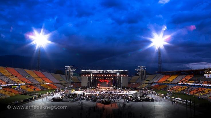 MDNA stage @ Medellín, Colombia. (c) Arne de Knegt Photography