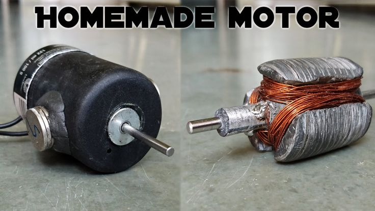 How to Make an Electric Motor at Home - YouTube