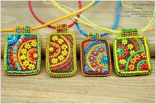 Beautiful beadwork by Nata Karsky - so happy!