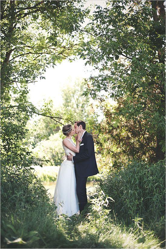 #DBBridalStyle Summer Solstice Garden Party Wedding