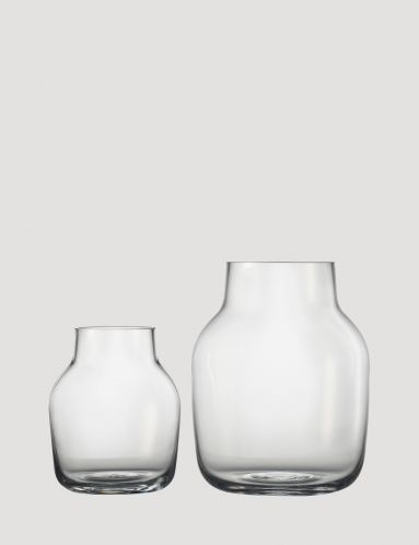 Silent - Modern Scandinavian Design Glass Vase by Muuto - Muuto