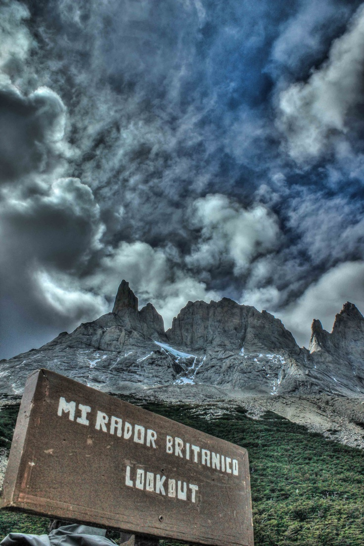 Mirador Británico, Torres del Paine, Patagonia, Chile.