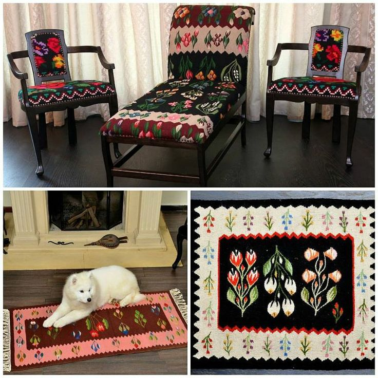adelaparvu.com despre covoare traditionale si mobila traditionala romaneasca Iiana (2)