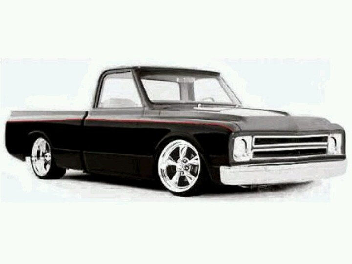 One day. Me and the kids will build a truck like this. 67Chevy