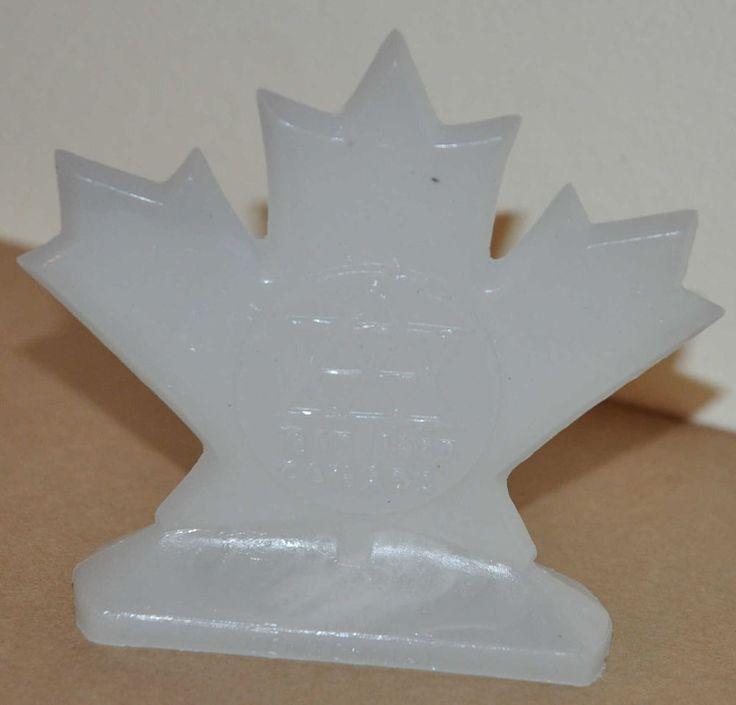 Mold-A-Rama 1967 Montreal Canada World s Fair Maple Leaf Centennial Celebration