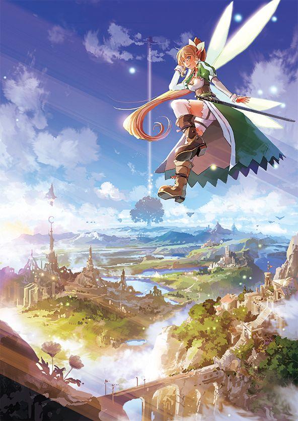 Sword Art Online | A-1 Pictures | Reki Kawahara | abec / Leafa / 「自由な空へ 」/「るく」のイラスト [pixiv]
