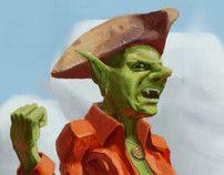 2012 Illustrations by Emanuele Sangregorio, via Behance