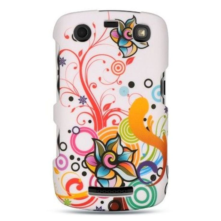 Insten Colorful Hard Snap-on Rubberized Matte Case Cover For BlackBerry Curve 9360, #2291932