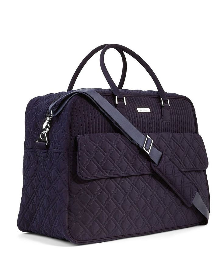 Classic Navy:Vera Bradley Grand Traveler Quilted Bag