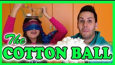 COTTON BALL CHALLENGE!!!☁☁
