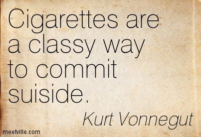 kurt vonnegut smoking quotes - Buscar con Google
