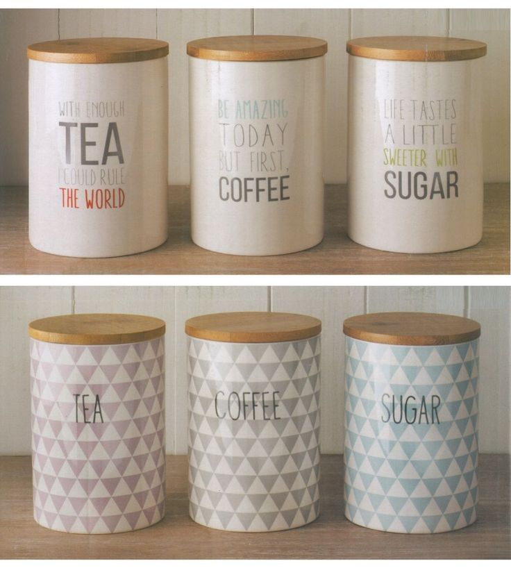 1000 ideas about tea coffee sugar canisters on pinterest sugar container sugar jar and tea - Pink tea and coffee canisters ...