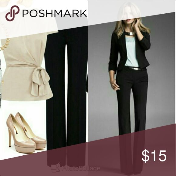 Anne Klein Black dressy pants Anne Klein Black dressy pants   New withouttag  Perfect for the office super cute   Inseam 33 Anne Klein Pants Straight Leg