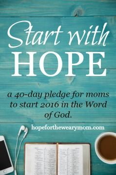Take the pledge! Start your 2016 in the Word of God!