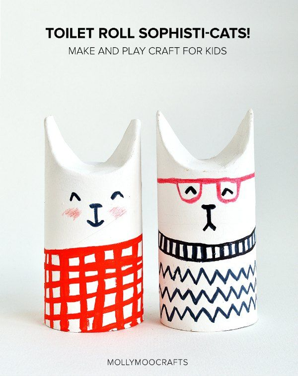 6 Creative Crafts with Toilet Paper Rolls - Petit & Small