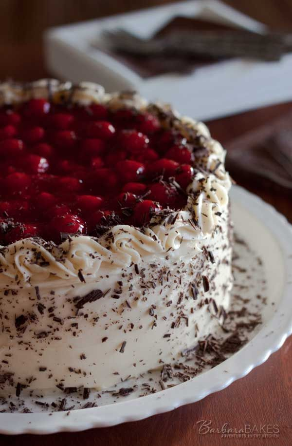 Black Forest Cheesecake Cake, maybe I'll try this for a special occasion.