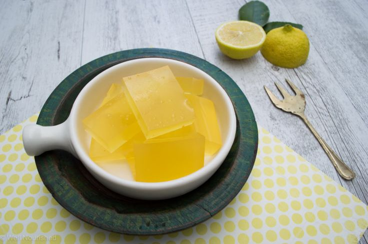 NEW RECIPE ⎮ Lemon Jellies ⎮ These jellies are a healing, immune and gut supportive treats that my kids absolutely love. They make a nourishing, delicious low-sugar treat and I hope you like them!