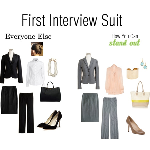 first interview suittake notes ladies - How To Dress For An Interview Dress Code Factor