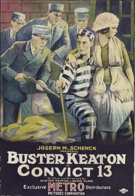 DVD CINE 2450-II - Pamplinas presidiario (1920) EEUU. Dir: Buster Keaton e Edward F. Cline. Comedia. Sinopse: Pamplinas xoga ao golf nun campo situado nas proximidades dun presidio. Un prisioneiro fuxido intercambia con el a roupa, a resultas do cal, tras varias peripecias, os gardas atrápano e encérrano. O peor é que o destino que lle agarda é a forca