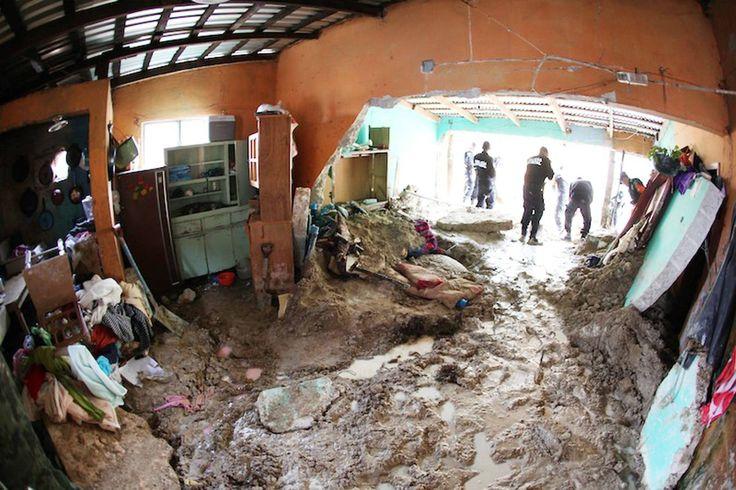 Las impactantes imágenes de las inundaciones en México - Internacional - abc.es
