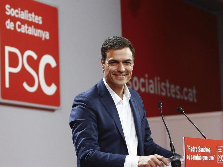 Pedro Sánchez, candidato del PSOE a la presidencia del Gobierno de España