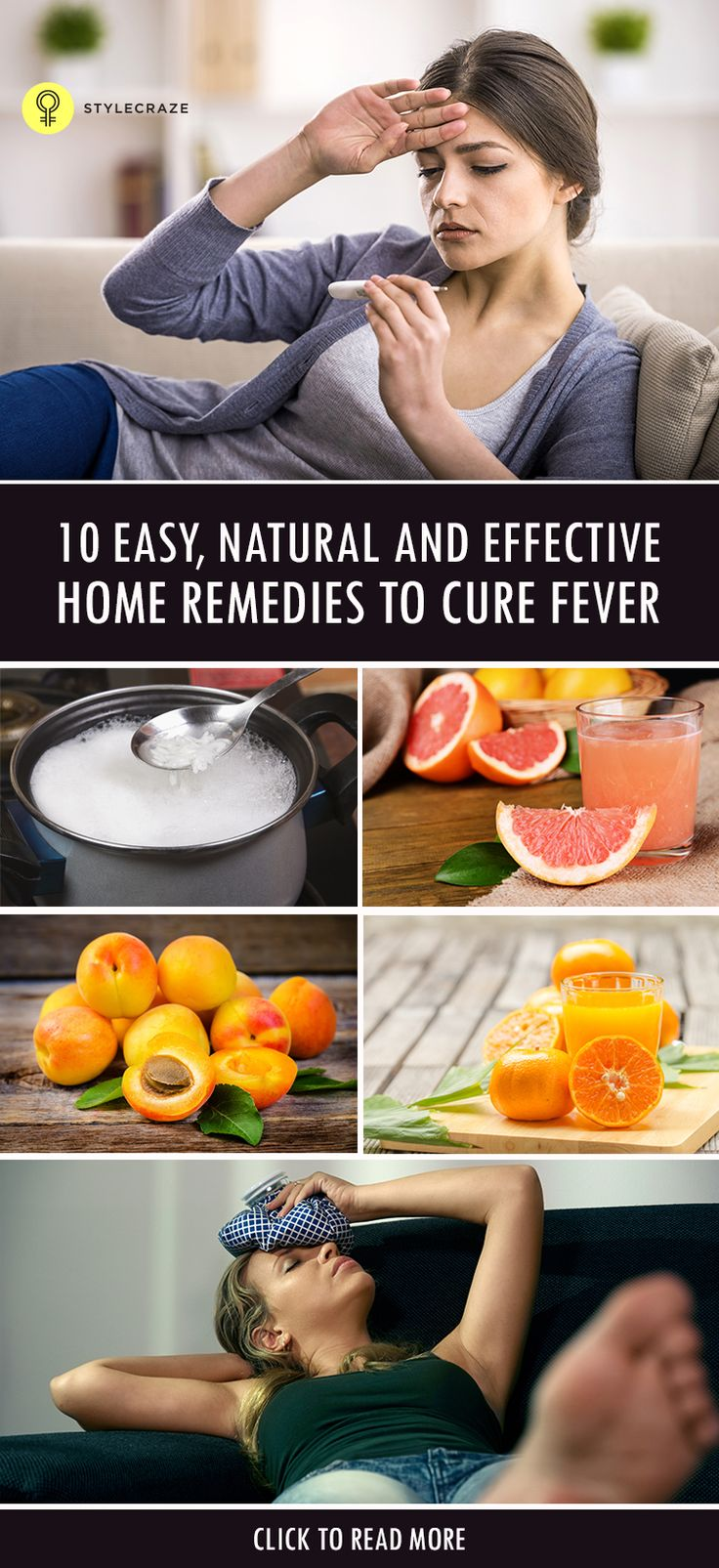 Fever is your body's natural way of fighting an infection such as flu. Fever within 102 degrees is usually not a concern. However, if it rises, you better not ignore it.