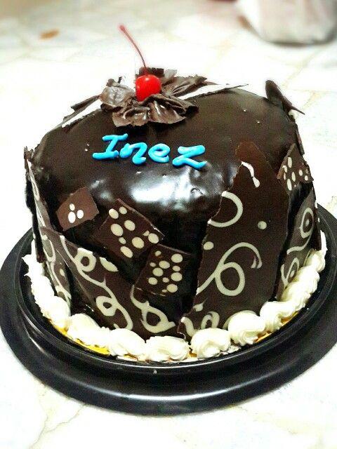 First chocolate cake