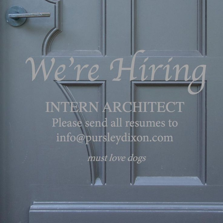 landscape architecture cover letter%0A We are hiring for an Intern Architect  Come join our team    buildbeautifulthings