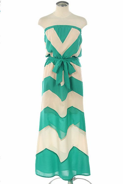 .: Summer Dresses, Style, Color, Dream Closet, Teal Chevron, Teal Dress, Chevron Dress, Beach Vacation, Chevron Maxi Dresses